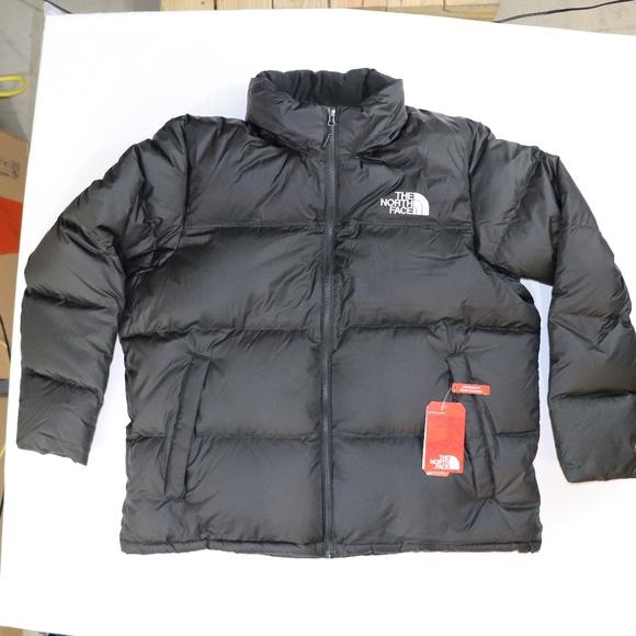 945a0420f7 TNF Black Nuptse Jacket by North Face